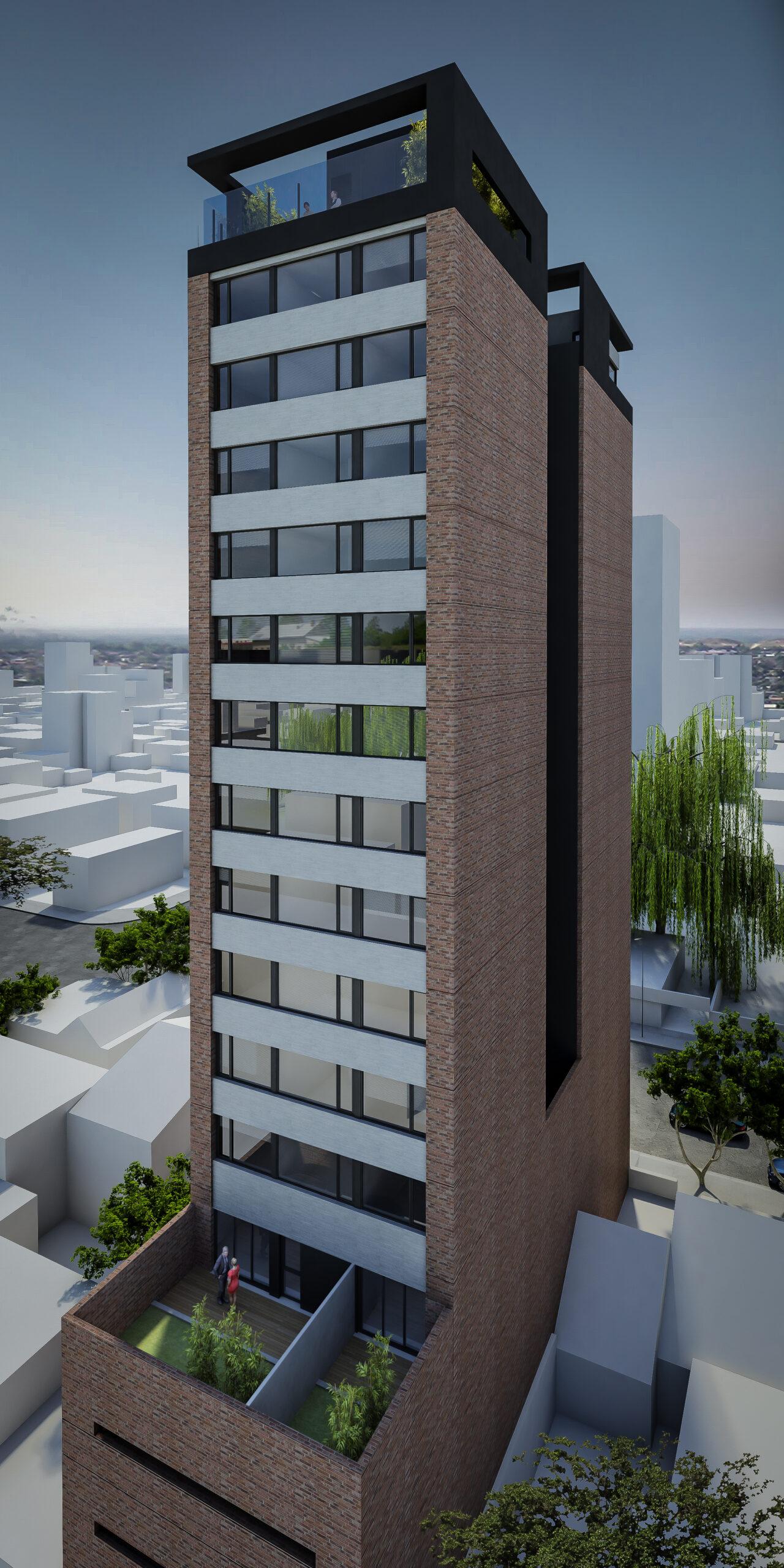 Edificio en Construcción QUARTZ, departamentos de 1 dormitorio y Monoambientes.